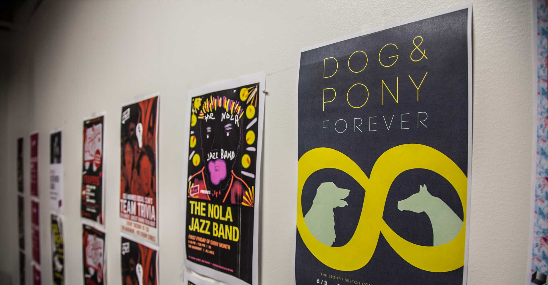 Posters Hanging