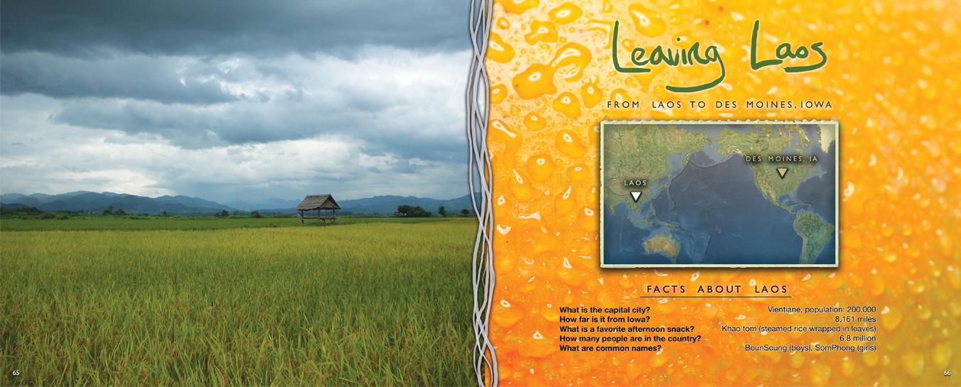 Zakery's Bridge - Leaving Laos