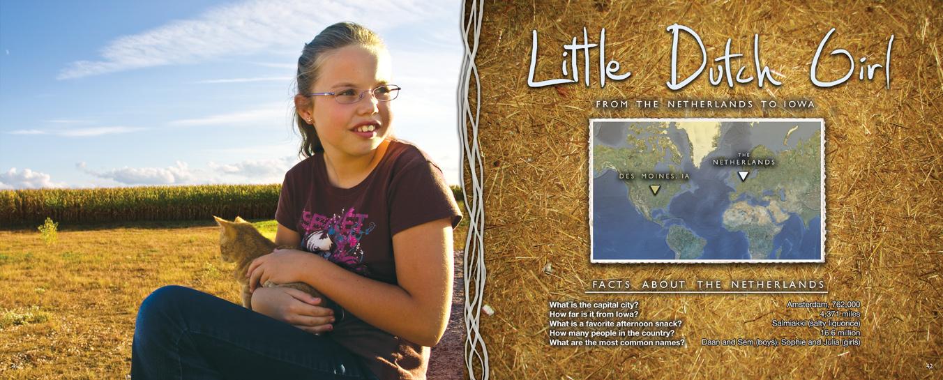 Zakery's Bridge - Little Dutch Girl