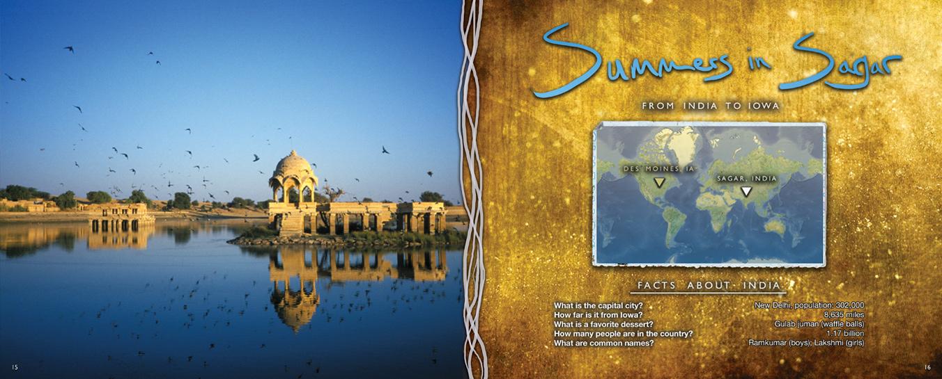 Zakery's Bridge - Summers in Sagar