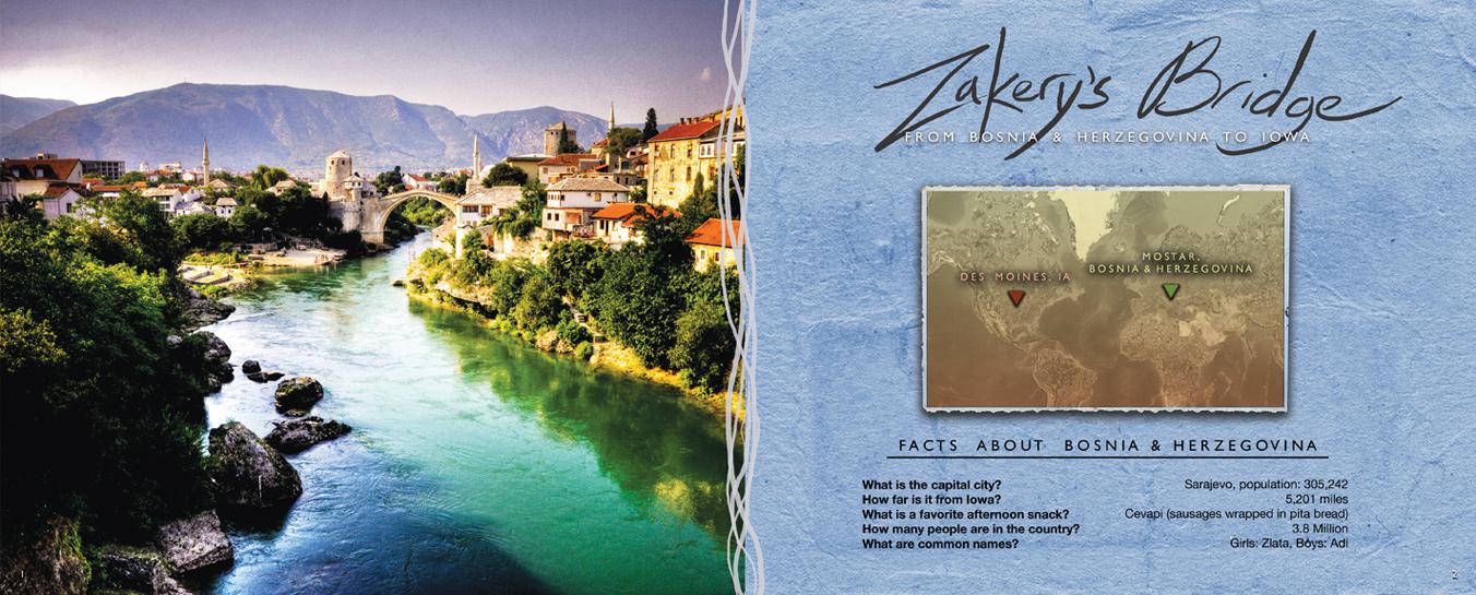 Zakery's Bridge - Title Story