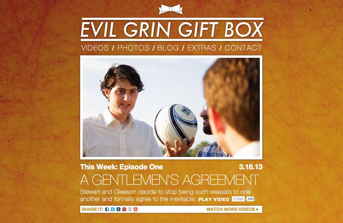 Evil Grin Gift Box