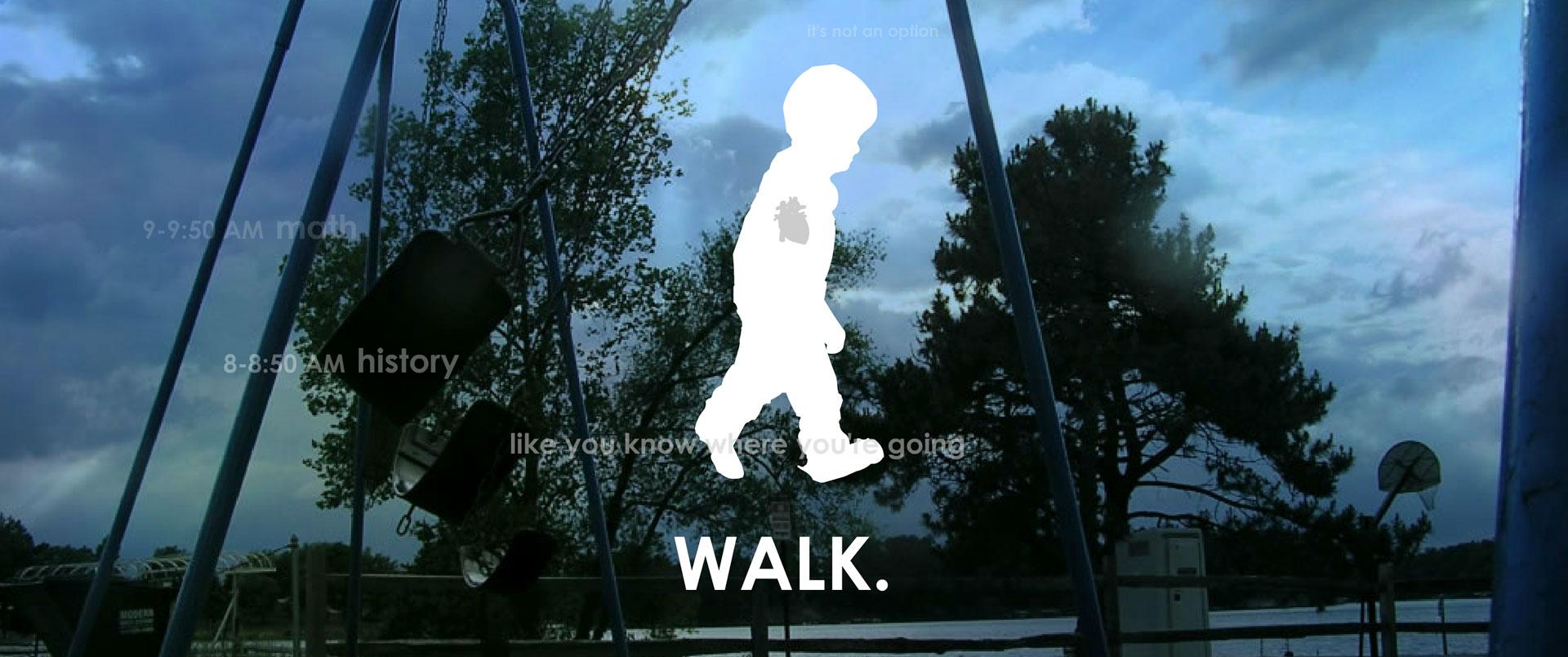 An Umbrella - Walk
