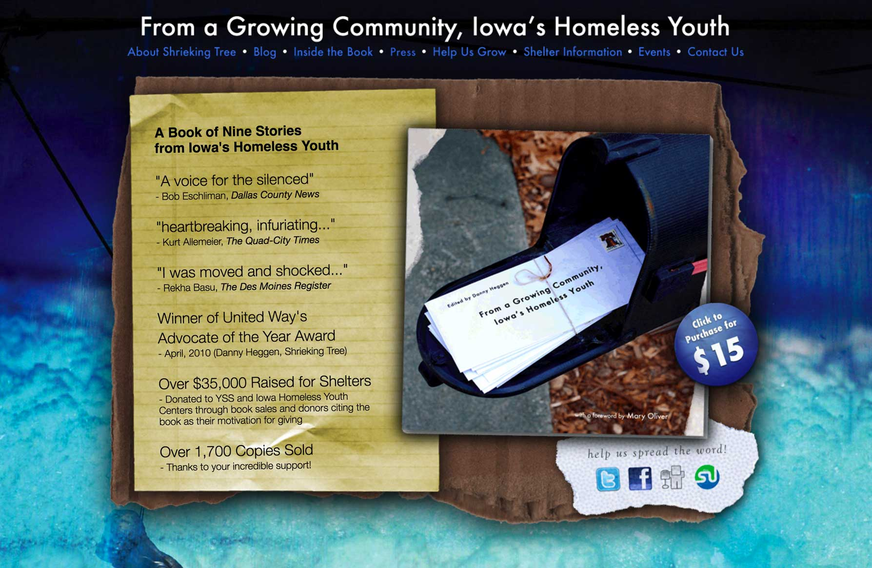 From a Growing Community, Iowa's Homeless Youth