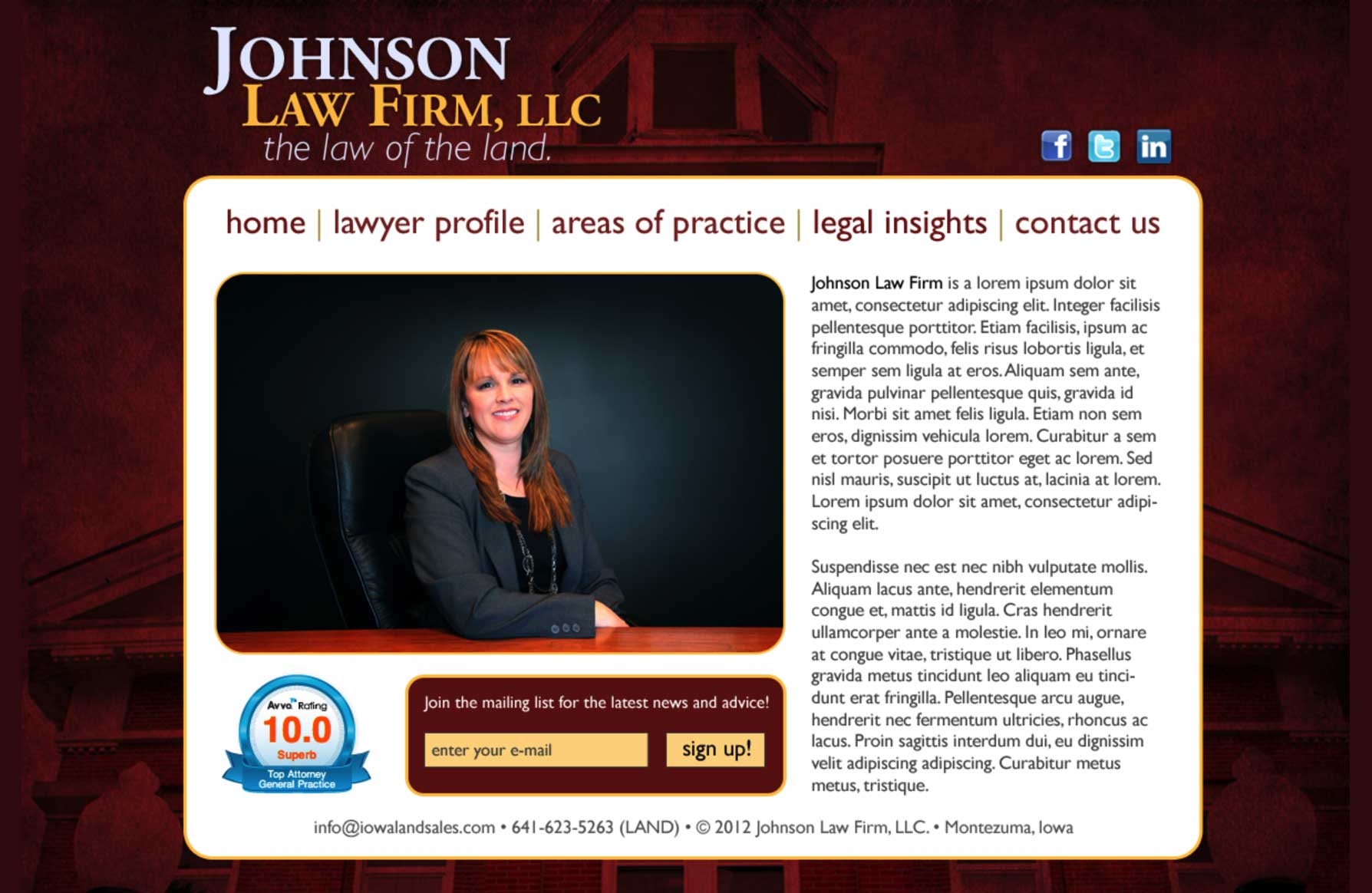 Johnson Law Firm, LLC
