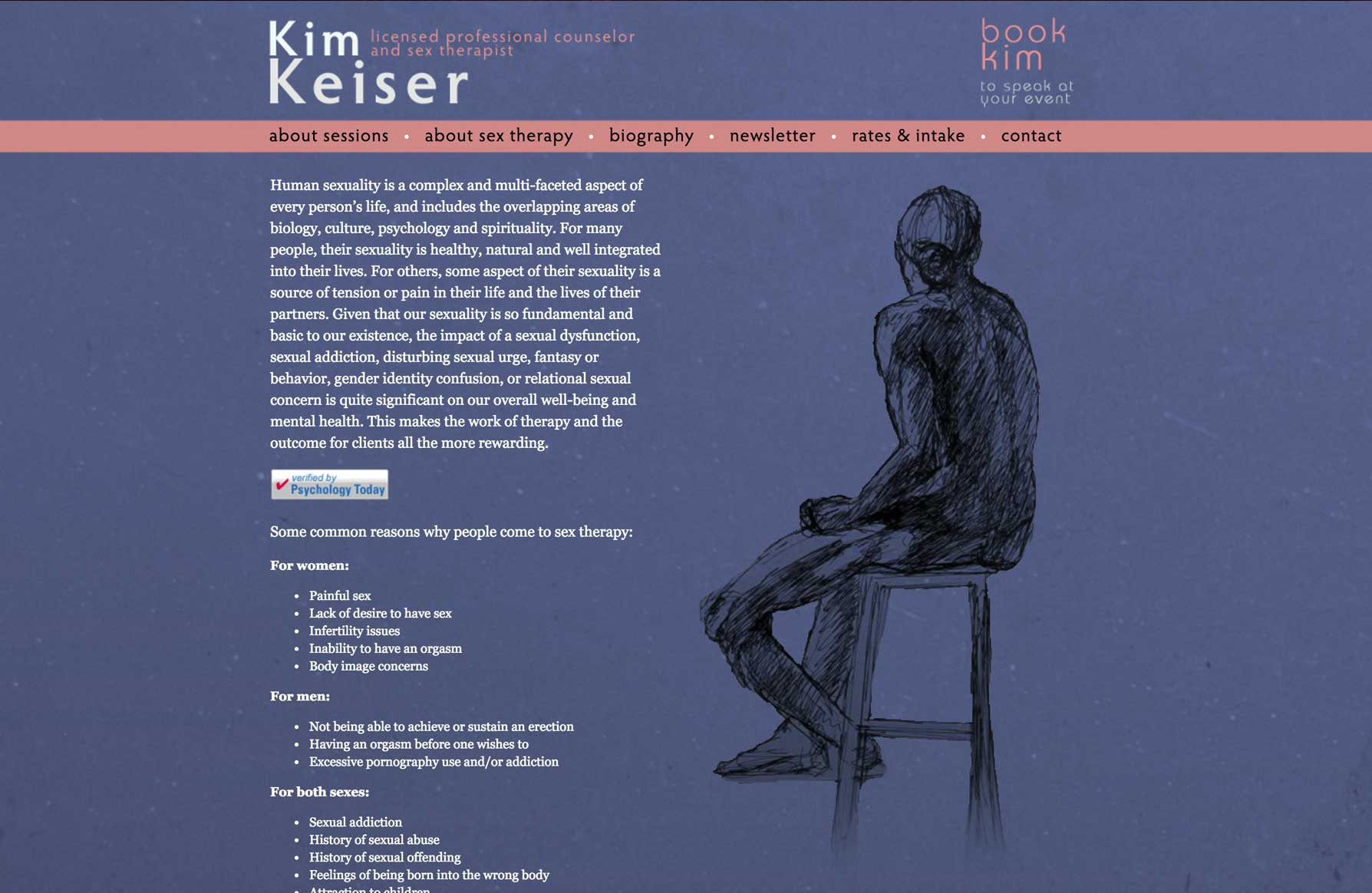 Kim Keiser - Sex Therapist