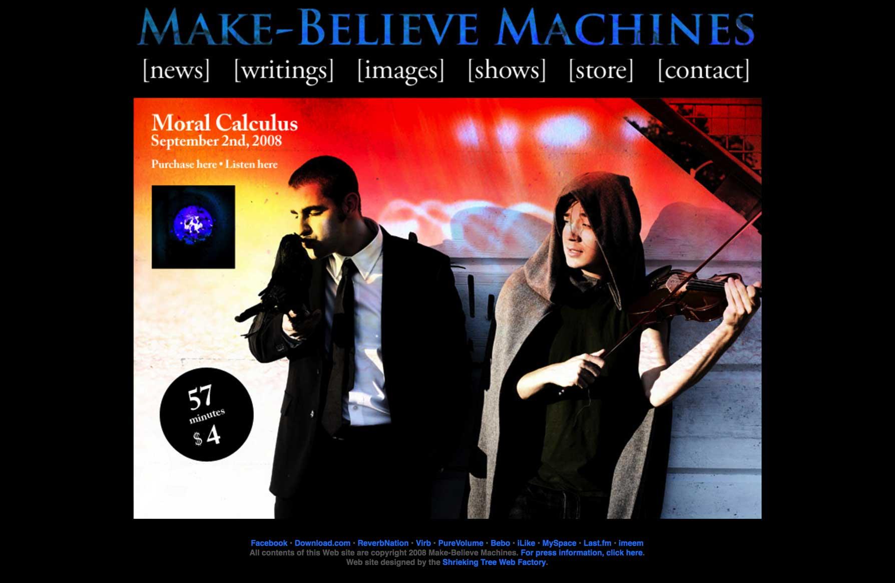 Make Believe Machines