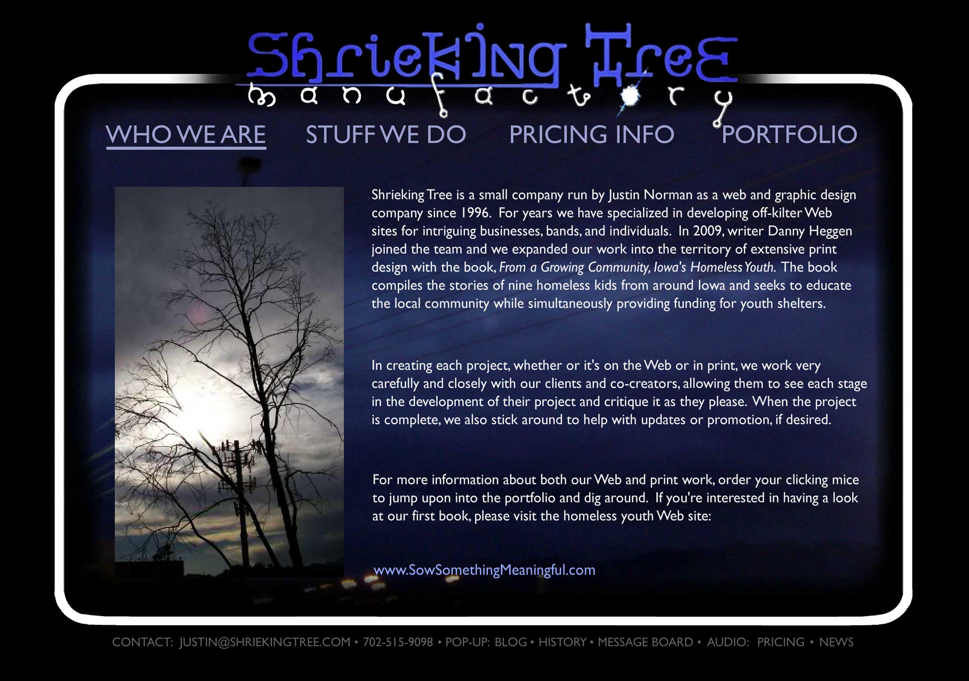 Shrieking Tree v1.0